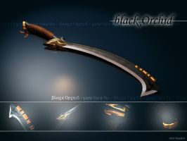 Black Orchid Sword by masda