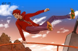 Wilde Life - Clifford Parkour by Lepas