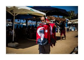 Ataturk flags by lightdrafter