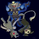Dusknoir and others mew hybrid by Juddlesart
