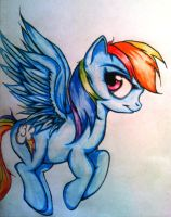 Rainbow Dash by Tomek2289