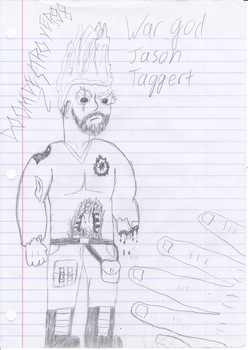 War god Jason by Doomdestroyer98