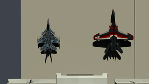 F-16M and F/A-18E by Marksman104