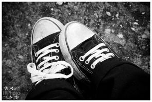 shoes bw by TanyaRudman