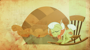 Wallpaper: Granny Smith by MadBlackie