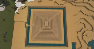 Minecraft - Pyramid by Icedragon300