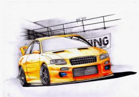 Audi RS4 - FanaVR design by Tino-artS