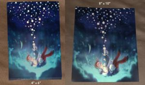 Photos of my 2 prints by roseannepage
