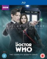 Doctor Who - Series Seven Blu Ray by willbrooks