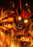 Hell's firefox by BloodlineV