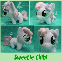 Sweetie Chibi - Trotcon 2015 by Emberfall0507