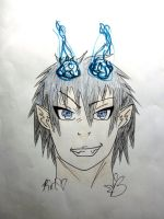 Rin Okumura Colored by JaneenBeans