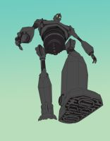 The Iron Giant by parallellogic