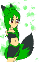 Jade as a human by BeelzemonFangirl