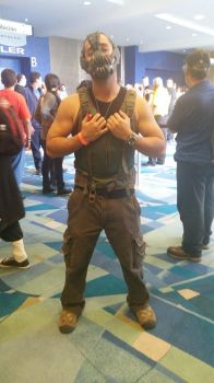 Bane cosplay by Shippuden23