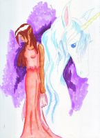 The Last Unicorn by Roseprincess1