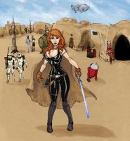 Mara Jade by Dopplegager