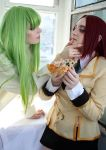 Code Geass:pizza, mmm? by Ashitaro