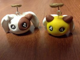 Neko!Angel!England and Cheerio Charms by CallMeFinland
