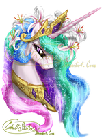 Celestia's portrait by CobaltStratos