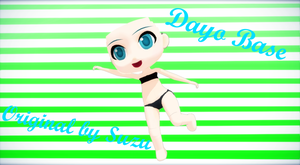 [MMD] Dayo Base DL by FBandCC
