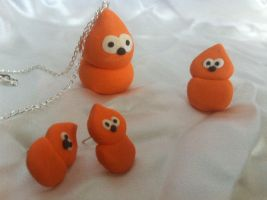 Zingy complete jewellery set! by DownTheRabbitHoleUk