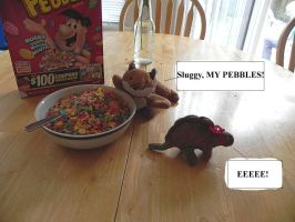 Slugfest and Foxfire with Pebbles 2 by ShebaKoby