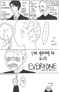 Voldemort is FUGLY by Legg0MyEd0