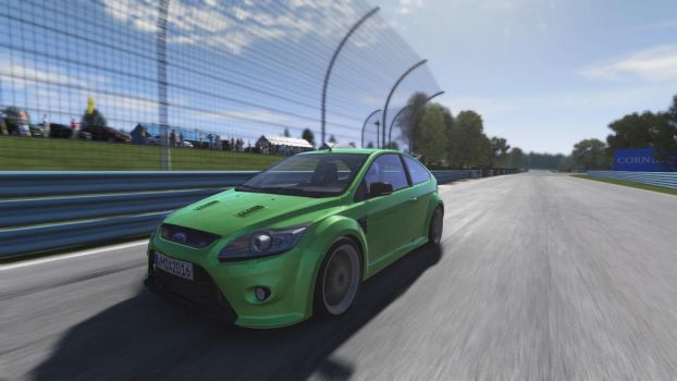 Green Focus by SonicAndTailsfan64