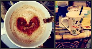 Love in the cup. by sunnySIDEofME