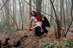 Warriors in the Woods 7 by Dewfooter