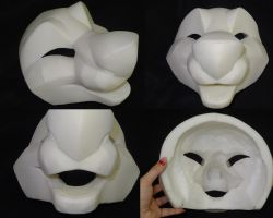 Carved Manokit Head by DreamVisionCreations