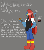 AlphaTale Arc 2 Undyne Ref by ReneesDetermination
