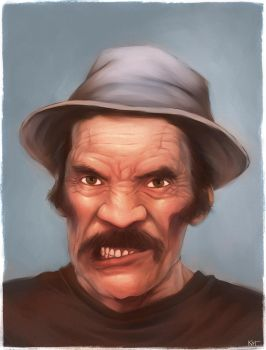Don Ramon by katcanales