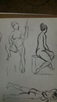 life drawing #4 by Gary3-6-9