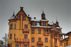 Hotel in High Tatras by cool-tery