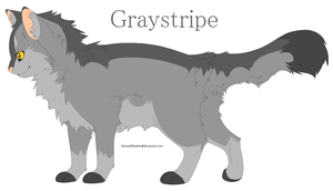 Graystripe - Warrior Cats Fan Art by WavesOfWealth