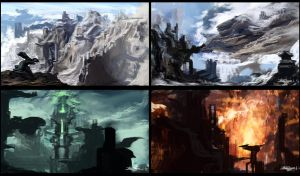 4 Concepts of Thyranrayr Environments 05 by Brollonks
