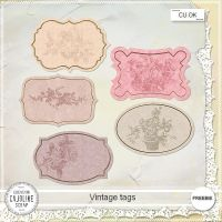 FREEBIE - Vintage tags CU by cajoline-scrap