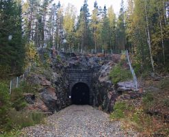 abandoned railroad tunnel 2 by werneri