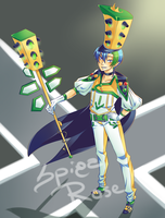 Hiro, the Green Traffic Lights King by SpigaRose