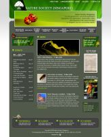 webdesign_naturesociety by mujiri