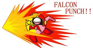 falcon punch by chanchoi