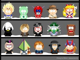 My own South Park characters 9 by Zwerg-im-Bikini