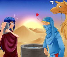 Love in the Desert by Thanysa