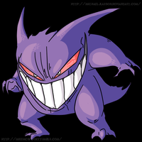 YOU ARE TEARIN ME APART, GENGAR by MichaelJLarson