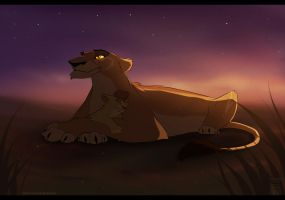 -Early morning:  Zira and Kioto- by STAFREE