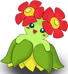 Bellossom by Totalheartsboy
