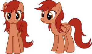 MLP Vector: Surfing Blossom Without Ponytail by outlaw4rc