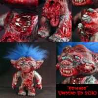 Edward The Zombie Troll detail by Undead-Art